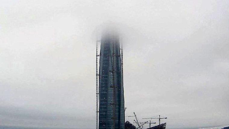 Avrupa'nın en yüksek gökdeleni St.Petersburg'da yükseliyor!