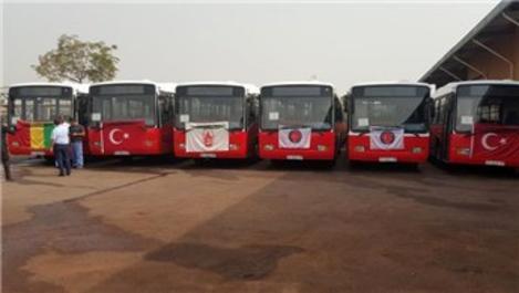 Gine'de toplu taşıma Türkiye'ye emanet!
