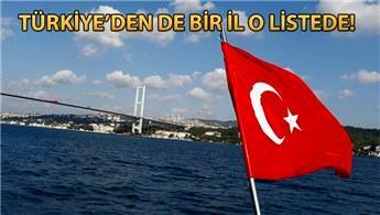 Dünyanın yaşanabilir illeri listesinde Türkiye'de yerini aldı!