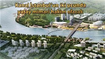 'Kanal'a modern iki şehir: Yapılar 4 katı geçmeyecek