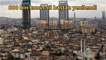 17 Ağustos Marmara depremi sonrası binlerce konut yenilendi