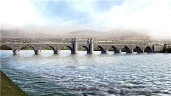 Dicle'nin iki yakası taş köprüyle bağlanacak!