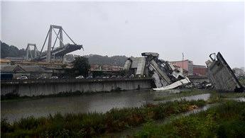 İtalya'da Morandi Köprüsü'nün bir kısmı çöktü