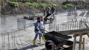 Hakkari Çukurca'da 142 daireli apartmanların temeli atıldı