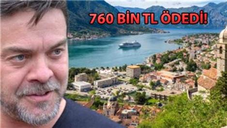 Beyazıt Öztürk, Karadağ'dan 3 yeni ev aldı
