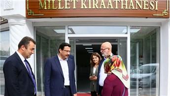 Ankara'nın ilk Millet Kıraathanesi ziyaretçilere açıldı