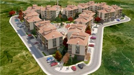 TOKİ'den Kütahya Dumlupınar'a yöresel mimaride 126 konut!