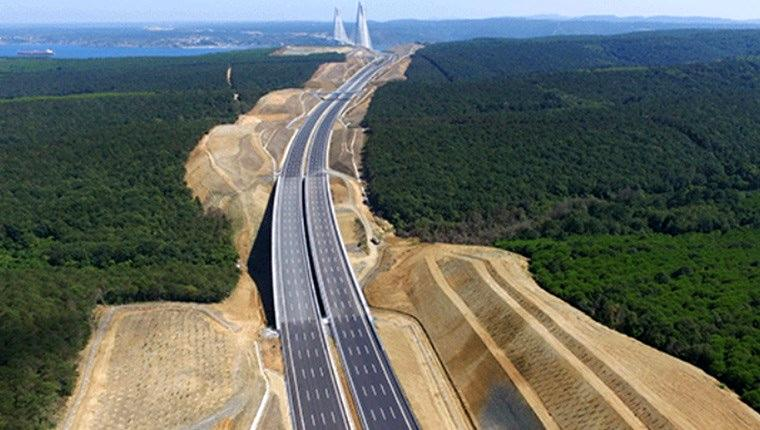 Kuzey Marmara Otoyolu Projesi'nde yeni gelişme!