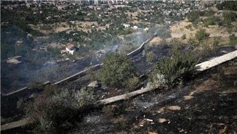 Kayseri'de arazi yangını