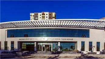 Talas Sosyal Yaşam Merkezi açılış için gün sayıyor