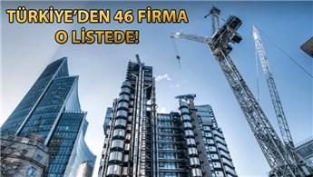 Türk inşaat şirketleri dünyanın en büyükleri arasına girdi!