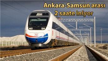 Samsun-Ankara arası yüksek hızlı tren ile 2 saat olacak