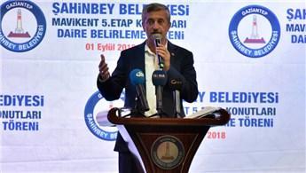 Gaziantep'te dar gelirli bin 151 konut sahiplerine teslim edildi