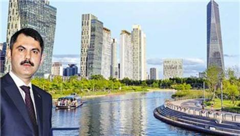 'Kanal'a Güney Kore modeli örnek şehirler kurulacak