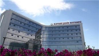"""Kayseri Şehir Hastanesi, """"konforlu"""" sağlık hizmeti veriyor"""