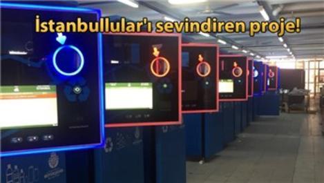 Pet şişeyi at İstanbulkart'ını doldur