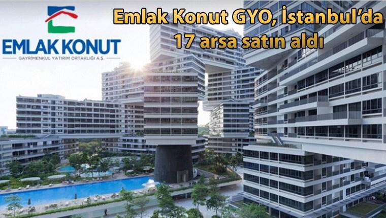 Emlak Konut GYO, İstanbul'dan 387.6 milyonluk arsa aldı