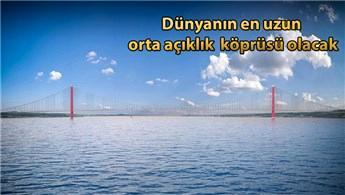 1915 Çanakkale Köprüsü'nün rüzgar testi Çin'de yapılacak