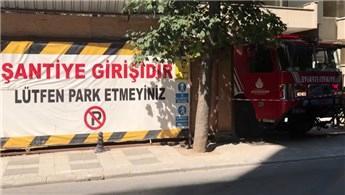 Kadıköy'de kentsel dönüşüm sırasında iş kazası!