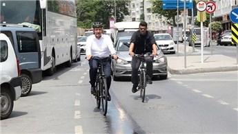 Zeytinburnu'nda bisikletle 132 bin TL'lik tasarruf!