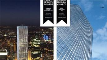 İstanbul Tower 205'e European Property Awards'tan 2 ödül!
