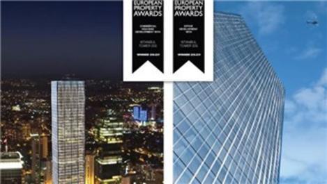 İstanbul Tower 205'e European Property Awards'tan 2 ödül!