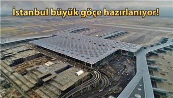 İstanbul Yeni Havalimanı'na binlerce tır malzeme taşıyacak!