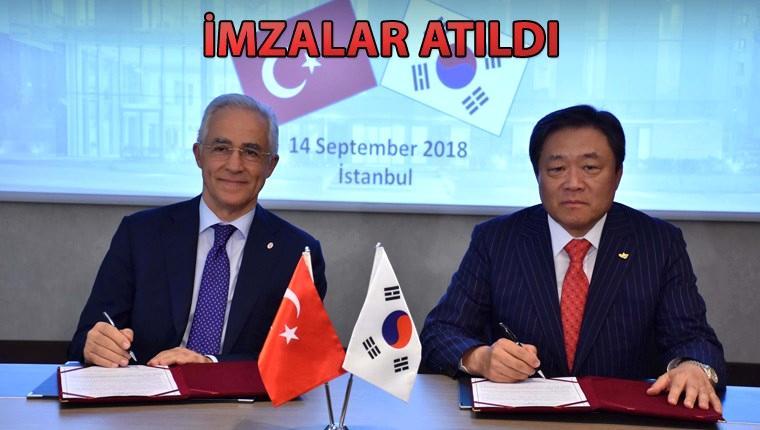 Türkiye ve Güney Kore müteahhitleri işbirliği yaptı