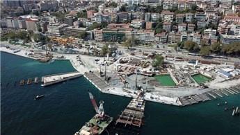 Başkan Erdoğan, Kabataş Martı projesini inceledi