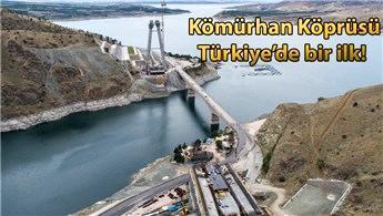 Stratejik konuma sahip Kömürhan Köprüsü, 2019'da tamamlanıyor