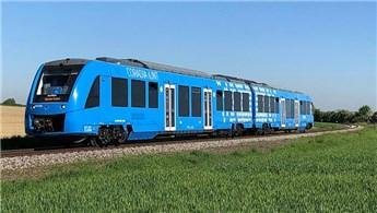 Dünyanın ilk hidrojen enerjili treni Almanya'da hizmete girdi