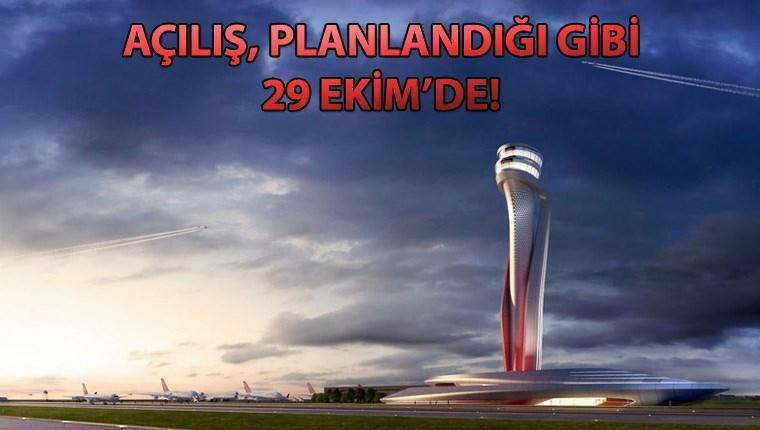 Ulaştırma Bakanlığı'ndan Yeni Havalimanı açıklaması!