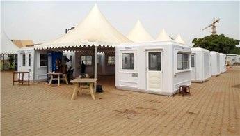 Karmod Sudan'da alışveriş çarşısı kurdu