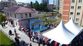 Erzurum'da inşa edilen muhtarlık binalarının açılışı yapıldı