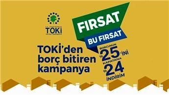 TOKİ'de indirim kampanyası başladı