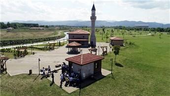 Samsun'daki çakıl ocağı millet bahçesi oldu