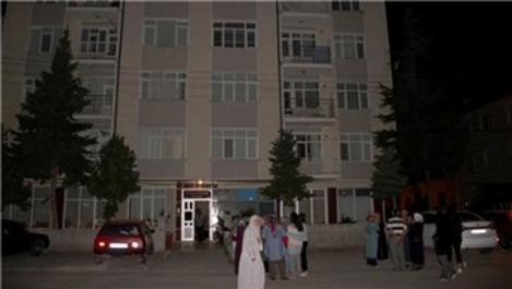 Konya'da yıkılma tehlikesi bulunan binalar boşaltıldı