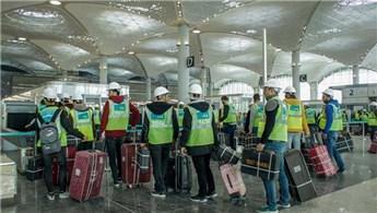 3. Havalimanı'nda ilk yolcu testi yapıldı