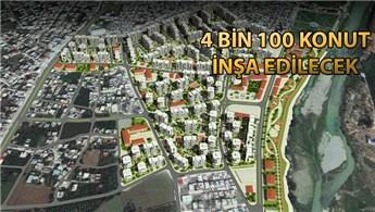 Adana'nın en büyük kentsel dönüşüm projesinin temeli atıldı