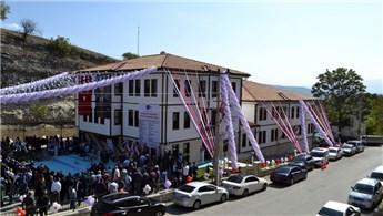 Karabük'te tarihi konak görünümündeki itfaiye binası açıldı