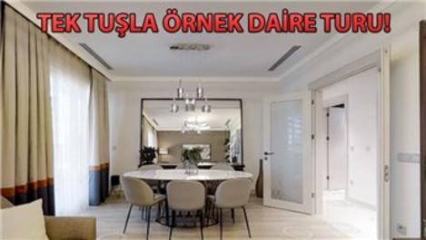 Tema İstanbul Bahçe'nin 2+1 dairesine 3D gezi!