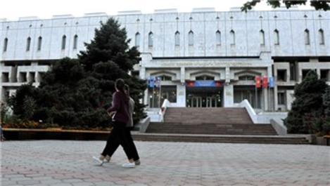 TİKA'nın Kırgızistan'da restore ettiği kültür merkezi tanıtıldı