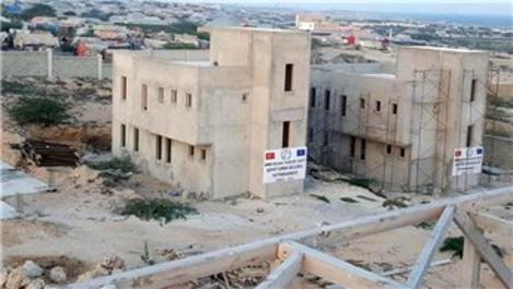 Mogadişu'da yaptırılan 'Şehit Eren Bülbül Yetimhanesi' tamamlandı