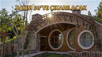 """Sivas'ın """"Hobbit evleri"""" dünyanın ilgisini çekti"""