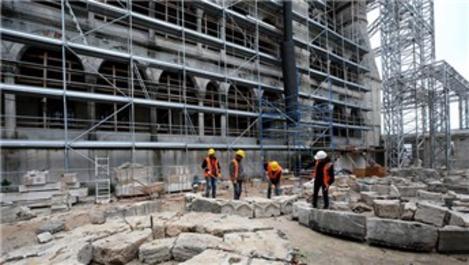 Sultanahmet Camisi'nin 400 yıllık su kanalı ıslah ediliyor