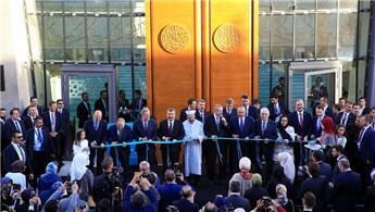 Başkan Erdoğan, DİTİB Merkez Camisi'nin açılışını yaptı