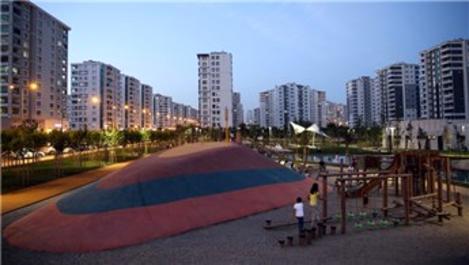 Diyarbakır'ın ilk 'Tema Park'ında çocuklar oyuna doydu