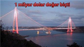 Yavuz Sultan Selim Köprüsü'ne Çinli talip!