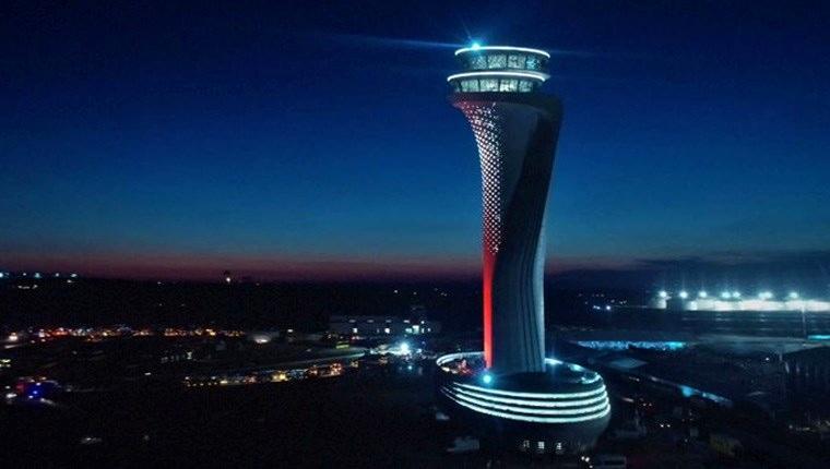 İstanbul Yeni Havalimanı'nın trafik kontrol kulesi incelendi