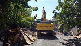 Adıyaman Ulucami Mahallesi'nde kentsel dönüşüm yıkımı!
